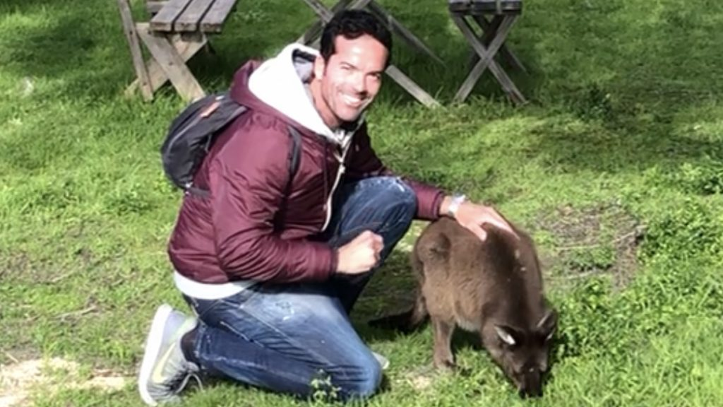 Claudio with Kangaroo – TripExperience, coming soon…